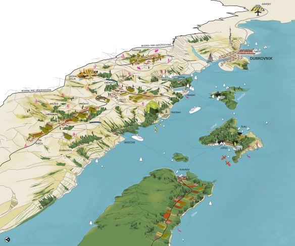 vogelvluchtkaart regio